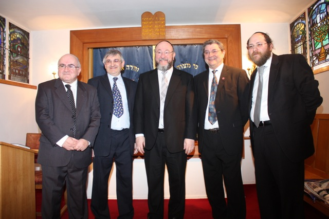 Chief Rabbi's visit 4