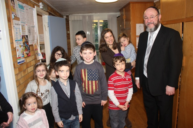 Chief Rabbi's visit 5
