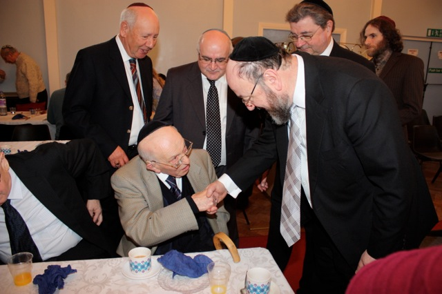 Chief Rabbi's visit 6